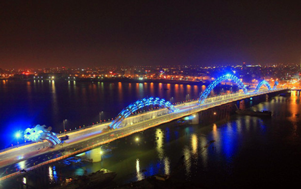 Vietnamese Fire Breathing Dragon Bridge