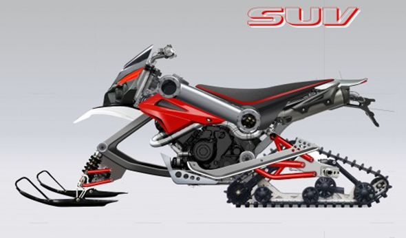 Brutus SUV Motorcycle