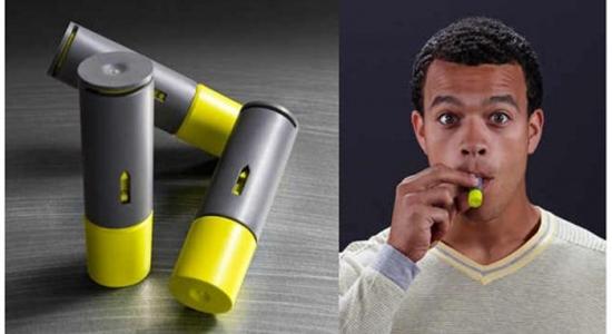 Aeroshot Caffeine Inhaler