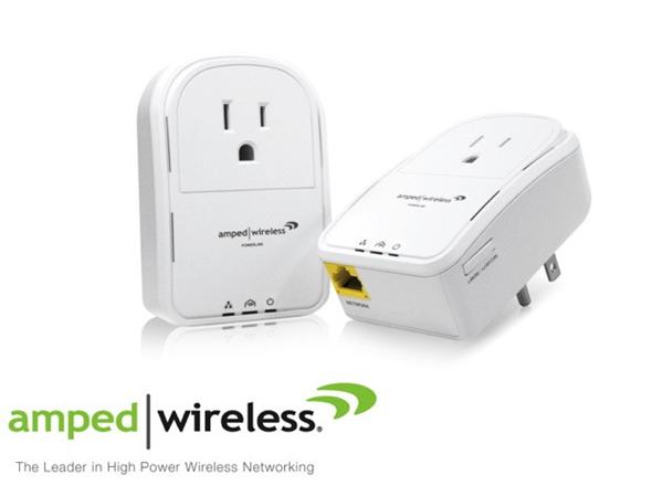 Amped Wireless PLA2 Power-Line Adapters