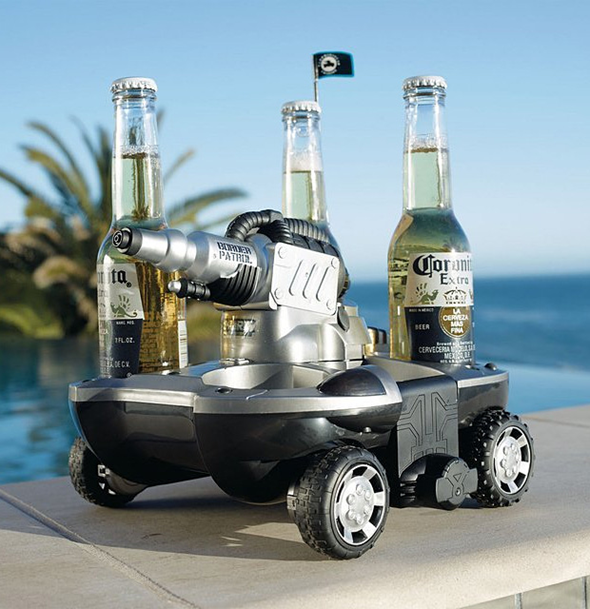 Amphibious Beer Vehicle