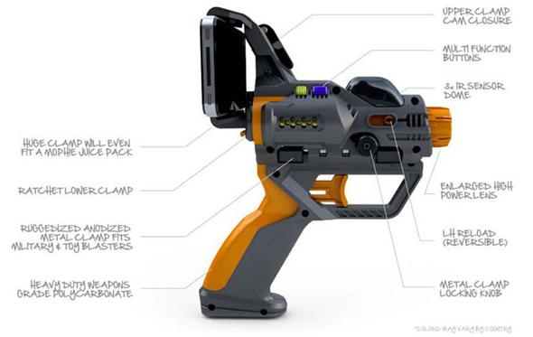 Hex3 AppTag Laser Tag Gun