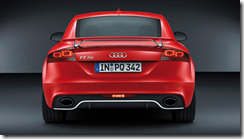 Audi TT RS Plus Rear