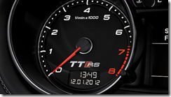 Audi TT RS Plus Tach