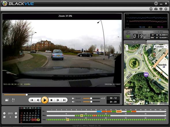 DR500GW-HD BlackVue Software