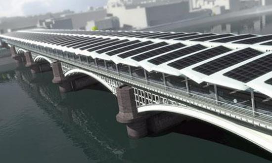 Blackfriars Bridge Solar
