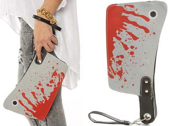 Bloody Cleaver Clutch Purse