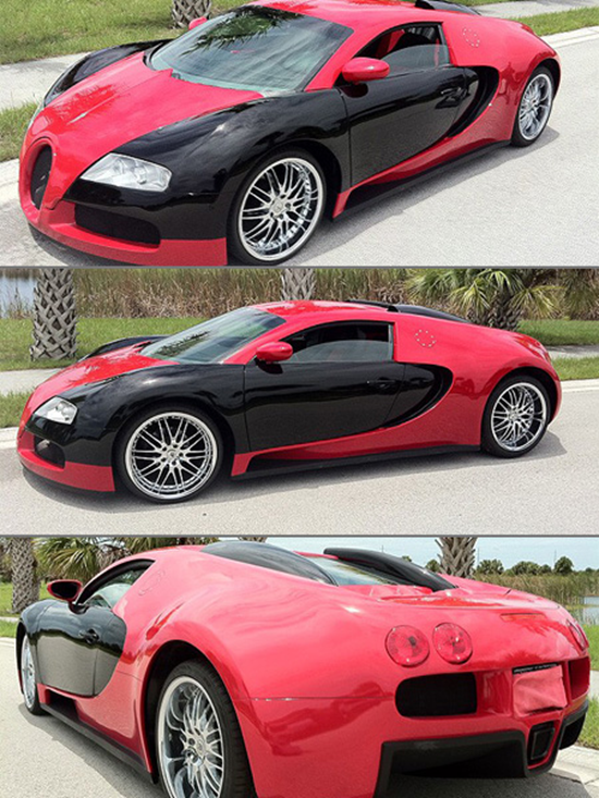 bugatti veyron replica kit. Black Bedroom Furniture Sets. Home Design Ideas