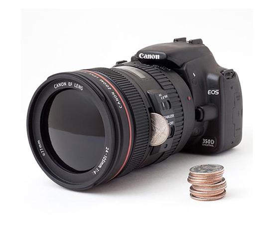 Canon DSLR Piggy Bank