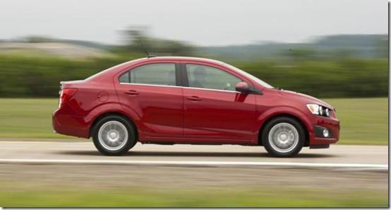 Chevrolet Sonic Recall Missing Brake Pads