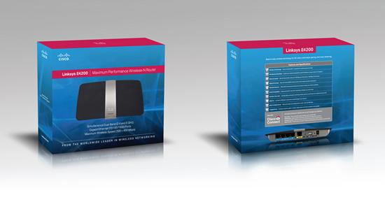 Cisco E4200 Box