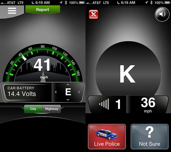 Cobra iRadar Atom Review App