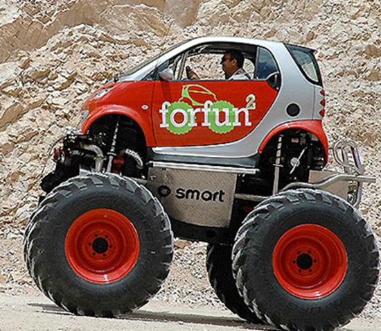 Smart ForFun2 Monster Truck