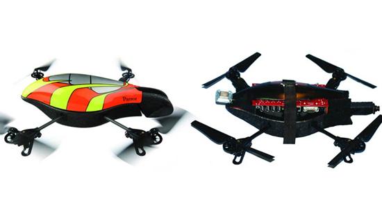 SkyNET Air Drone Hacking Robot