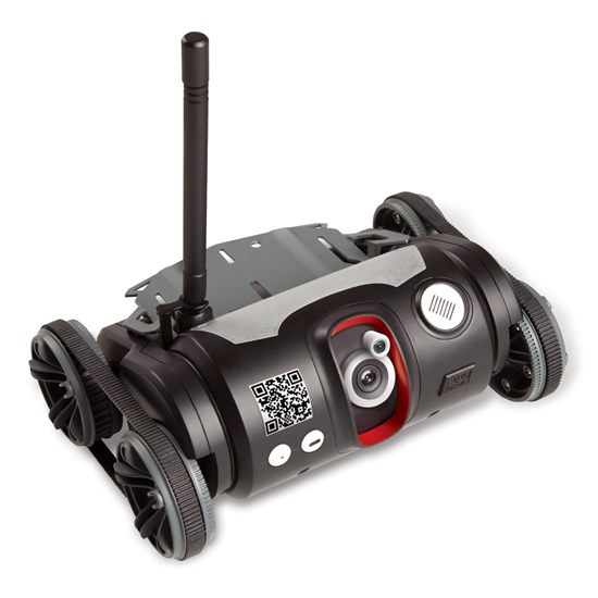 TRAKR Remote Control Spy Camera and Microphone