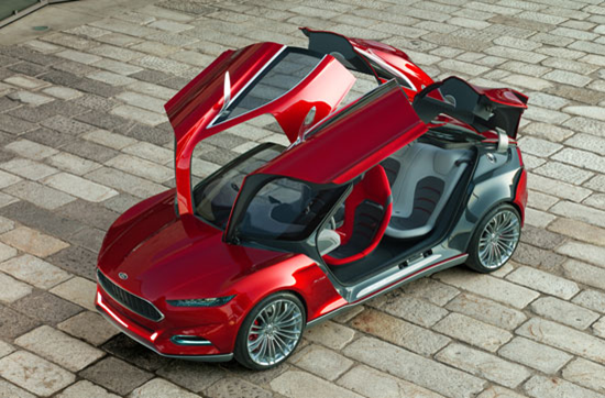 Ford Evos Gullwing Doors