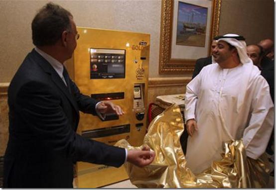 Gold to go ATM vending machine
