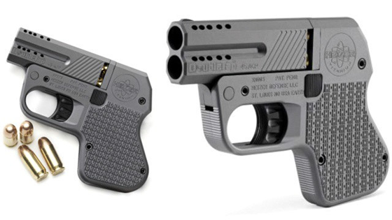 World's Smallest .45 Caliber Pistol