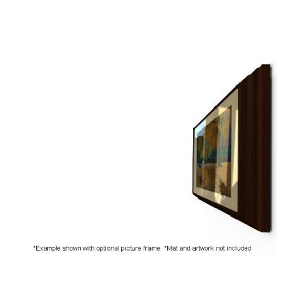 Hidden Flip-out tv mount picture frame