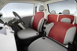 Honda EV-N Interior