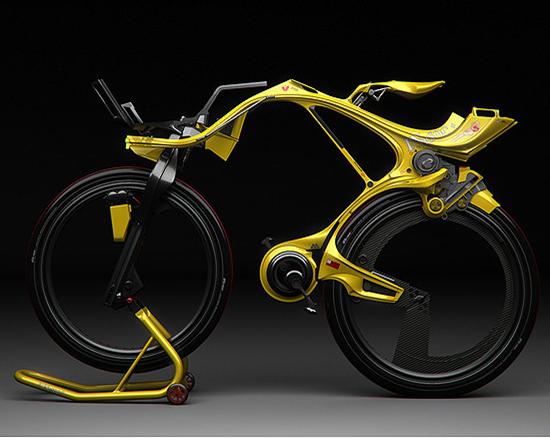 INgSOC Chainless Bike