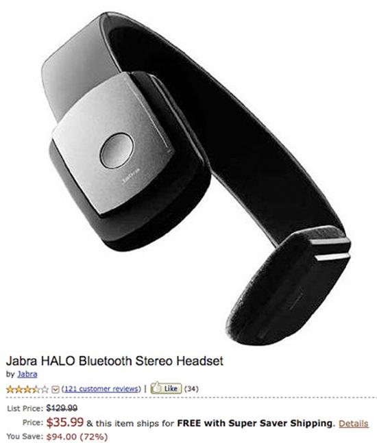 Jabra Halo Stereo Headset