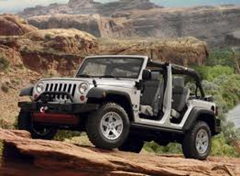 Jeep Unlimited top off