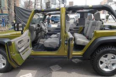 Jeep Unlimited Green