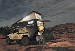 Jeep Unlimited Action Camper Dusk