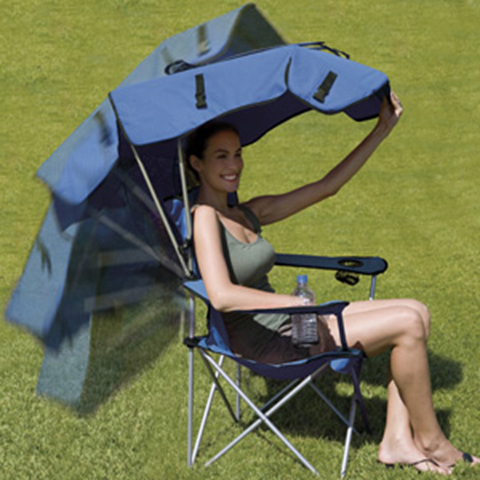 fold up chair with shade 3