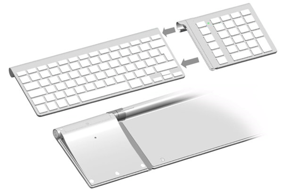 lmp bluetooth keypad wants to connect with your apple keyboard. Black Bedroom Furniture Sets. Home Design Ideas