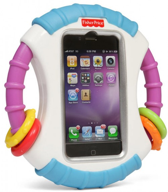Fisher Price Laugh And Learn Baby iPhone Case