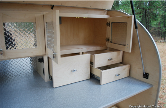 MOBY1 Trailer Interior
