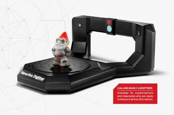 MakerBot 3D Scanner