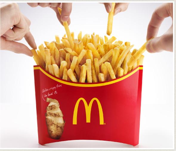 McDonald's Mega Potato