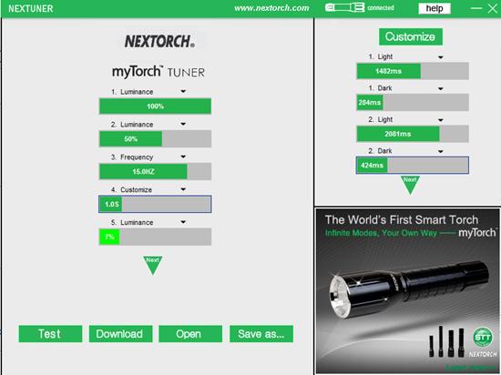 myTorch Nextuner Software