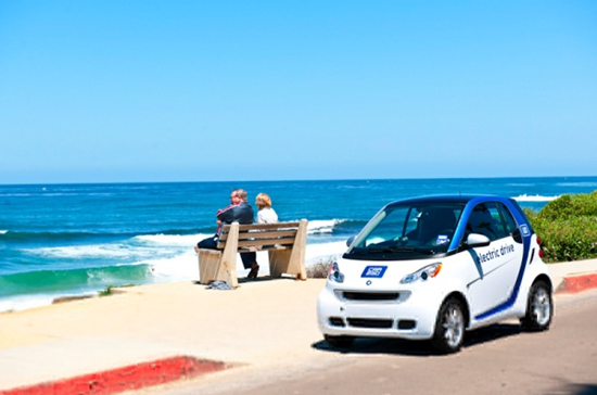Car2Go Electric Car Sharing