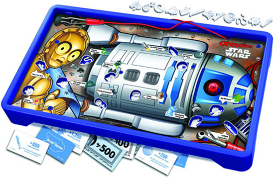 R2-D2 Star Wars Operation Game