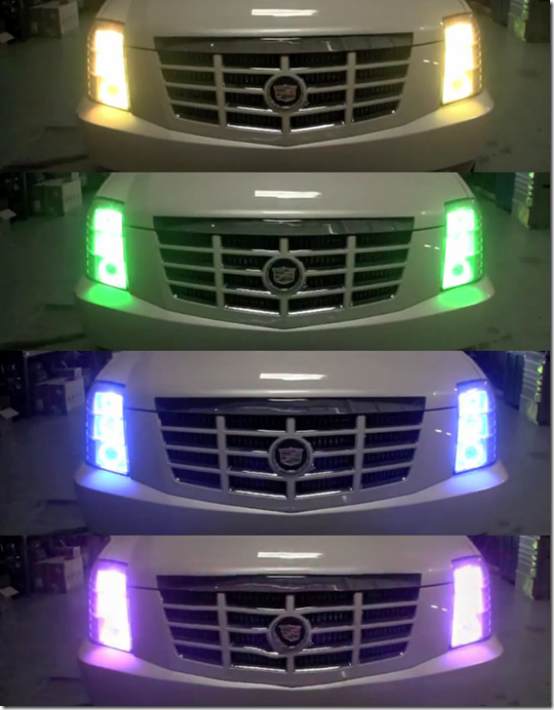 Oracle Colorshift Color Changing Led Headlights