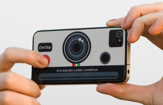 iPhone Polaroid Decal Sticker