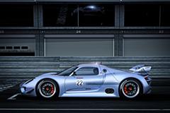 Porsche Hybrid Racecar