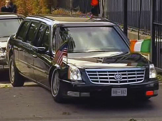 Presidential Limo Stuck In Ireland