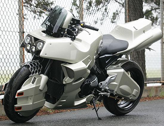Robotech Cyclone Motorcycle