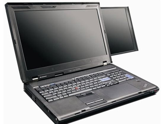 Lenovo Dual Screen ThinkPad Laptop