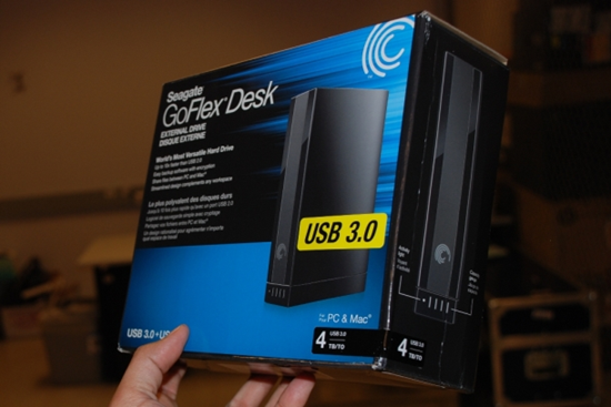 Seagate GoFlex Desk 4TB