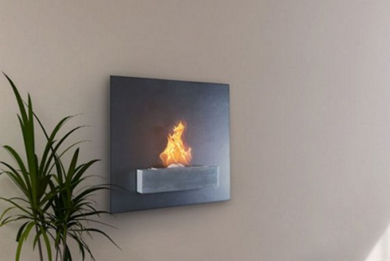 Serafin Wall Mounted Liquid Fuel Fireplace