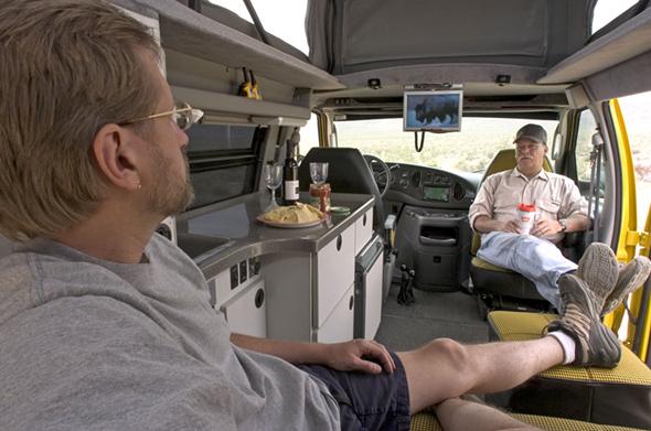 Sportsmobile Ultimate Adventure Vehicle Interior