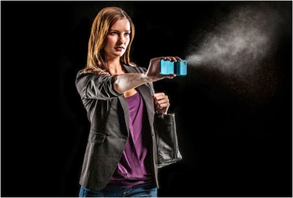 Spraytect iPhone Pepper Spray Case