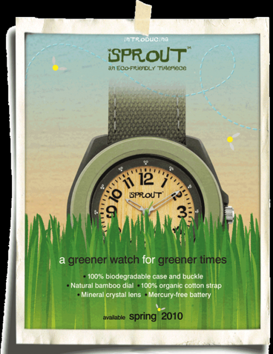 Sprout Eco-Friendly Watches
