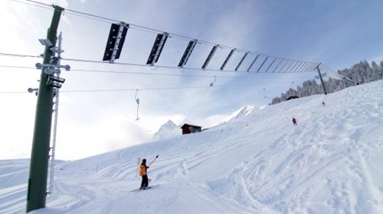 Swiss Village Solar Powered Ski Lift
